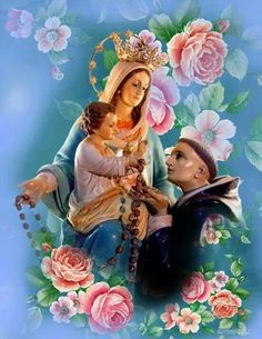 Saint Anthony's Prayer to Our Lady St Anthony Prayer, Saint Anthony Of Padua, St Therese Prayer, Family History Book, Images Of Mary, Lady Mary, Religious Images, Everlasting Life, Faith In Love