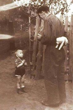 This 1955 photo was titled A Few Seconds til Happiness