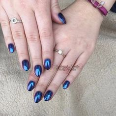 Zdjęcie Mirror Nails, Sapphire, Rings, Jewelry, Jewlery, Jewerly, Ring, Schmuck, Jewelry Rings