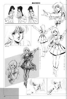 Robotech Macross 80s anime — abcb-cafe: もっとリン・ミンメイです。