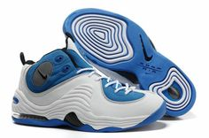 best website 3d171 c943b Cheap Hardaway Penny shoes 2012 Nike Air penny II LE Chlorine Blue White  Black 333886 401