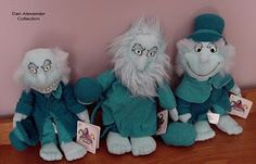 Ezra, Gus and Phineas (the hitchhiking ghosts) dolls.