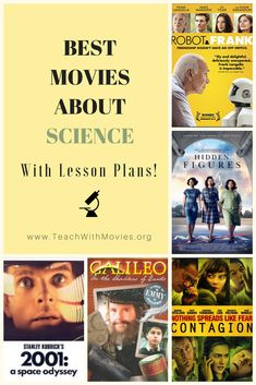 Best movies about Science on TeachwithMovies.org with free Lesson Plans and Learning Guides. Science Lesson Plans, Free Lesson Plans, Science Lessons, Science Movies, Hidden Figures, Best Friendship, Scientific Method, Earth Science, Science And Technology