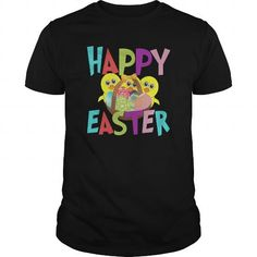 Awesome Tee HAPPY EASTER 1 T-Shirts