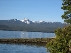 Cresent Lake, Oregon. So pretty!