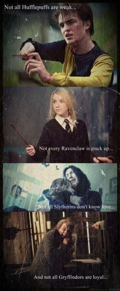 """. . . Sometimes I think we sort too soon . . . "" - Albus Dumbledore"