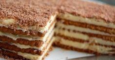 Gâteau aux petits-beurres parfum café .. c'est celui-ci ... Pour moi le gâteau de l'enfance