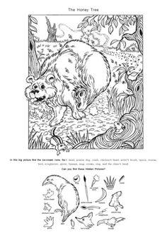 영어 숨은그림찾기 프린트 <2> : 네이버 블로그 Animal Activities, Craft Activities For Kids, Crafts For Kids, Coloring Books, Coloring Pages, Hidden Picture Puzzles, Hidden Pictures, Hidden Objects, Maze