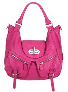 Melie Bianco Alyssa bag in Fuchsia  ($99)