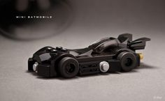 Mini LEGO Batmobile