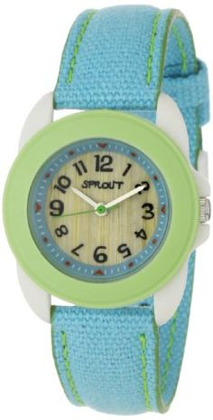 Sprout Unisex ST1001LGIVLB  Corn Resin and Blue Organic Cotton Strap Watch Sprout Watches,http://www.amazon.com/dp/B0035RQJ5U/ref=cm_sw_r_pi_dp_4tHXsb1DCVTHN11B