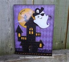 #10 Cricut Project Center - Sliding Ghost Card - darling!