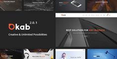 Okab - Responsive Multi-Purpose WordPress Theme  -  https://themekeeper.com/item/wordpress/okab-multi-purpose-wordpress-theme