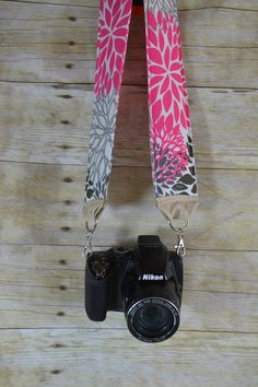 Custom Camera Strap to match your bag by Darby Mack by DarbyMack