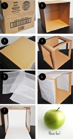 Or use plywood for a more durable box you could breakdown and reuse...