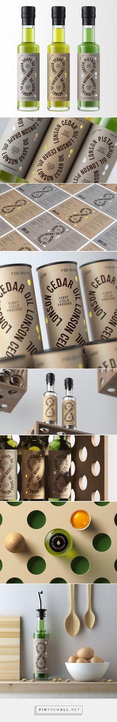 Lonson Oil packaging design by SOYUZ - http://www.packagingoftheworld.com/2017/05/lonson-oil.html