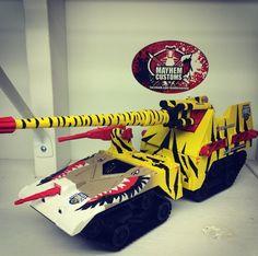Tiger Force Maggot by Mayhem Customs Awesome Toys, Cool Toys, Gi Joe Vehicles, Art Pics, Mixer, Action Figures, Star Wars, Hero, 3d