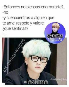 Read Suga from the story ~ Memes De Bangtan ~ BTS by SugaDeLaCruzPark (Suga De La Cruz Park) with reads. Bts Suga, K Pop, Frases Bts, Rap Lines, Album Bts, Spanish Memes, Bts And Exo, Bts Chibi, Bts Lockscreen