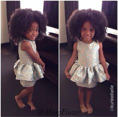 {Grow Lust Worthy Hair FASTER Naturally} ========================== Go To: www.HairTriggerr.com ==========================        Cute Little Naturalista!!