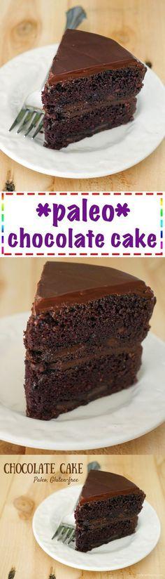 Chocolate Cake (Paleo Gluten-Free