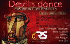 Devil's dance: Finest Underground House Music @ Guatemala