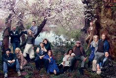 Splendor in the Park | The Veterans of Shakespeare in the Park   Photography by Annie Leibovitz