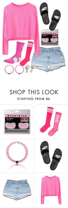 """""""~SPIRIT WEEK~"""" by lindsay-mccartney ❤ liked on Polyvore featuring NIKE and Victoria's Secret PINK"""