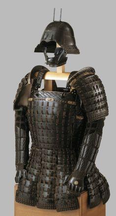 Image : Armour (mogami haramaki gusoku) Japanese mid-16th Century - Royal Armouries