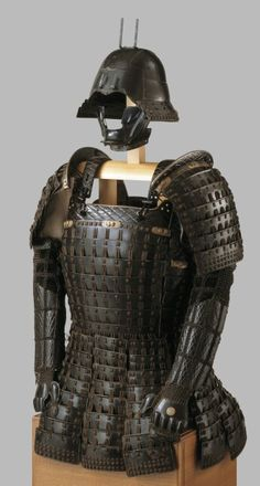 Image : Armour (mogami haramaki gusoku) Japanese mid-16th Century - Royal Armouries