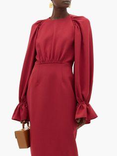Modest Fashion, Hijab Fashion, Fashion Beauty, Fashion Dresses, Fashion Fashion, Mode Turban, Casual Dress Outfits, Long Casual Dresses, Roksanda