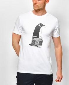Photo ambiance Manchot Blaster de la boutique en ligne Monsieur teeshirt
