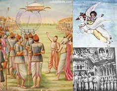 Flying chariots employed by the ancient gods of India. Described in amazing detail these flying machines appear to be vehicles of ancient alien technology. Ancient Aliens, Aliens And Ufos, Ancient History, Ancient Mysteries, Ancient Artifacts, Ancient Map, Ancient Egypt, Ancient Astronaut Theory, Alien Theories