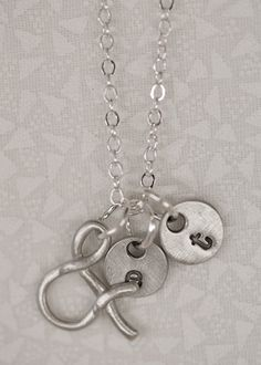 """want! """"ampersand"""" necklace from lisa leonard."""