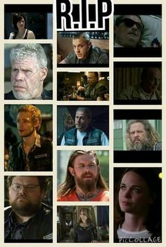 TRIBUTE to all the characters that died in SOA!