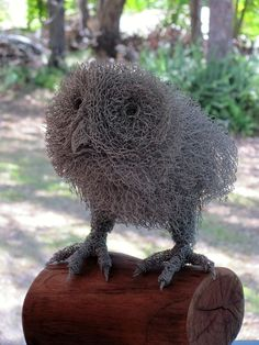 """Receive fantastic pointers on """"metal tree art wall"""". They are on call for you on our web site. Chicken Wire Art, Chicken Wire Sculpture, Chicken Wire Crafts, Wire Art Sculpture, Abstract Sculpture, Metal Sculptures, Bronze Sculpture, Wire Trees, Animal Sculptures"""