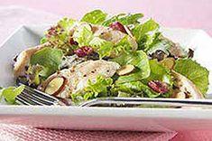 Warm Chicken and Cranberry Salad recipe
