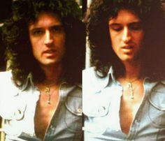 I'm like ''wut'' i don't know the year and i don't mind Queen Brian May, I Am A Queen, Queen Guitarist, Queen Photos, British Rock, Queen Freddie Mercury, Queen Band, Stars Then And Now, John Deacon