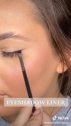 Smoky Eye Makeup, Edgy Makeup, Eye Makeup Steps, Makeup Eye Looks, Beauty Makeup, Subtle Makeup, Makeup Art, Makeup Tutorial Eyeliner, Makeup Looks Tutorial