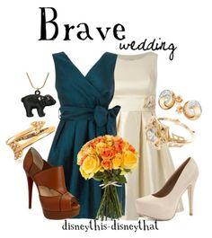 Disney Brave wedding #disney #disneywardrobe....I would totally dress up like merida for someones wedding