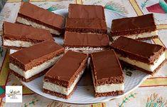 Érdekel a receptje? Kattints a képre! Sweet Desserts, Sweet Recipes, Sugar Free Sweets, Food Journal, Something Sweet, Fudge, Food To Make, Cooking Recipes, Drink Recipes