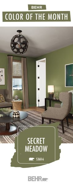 107 Best Green Rooms Images In 2019 Behr Paint Color Palettes
