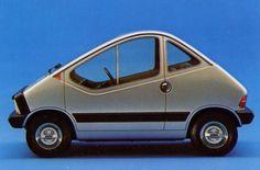 x1/23 city car, an electric conceptcar by fiat (1972)