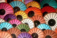 S'offrir une belle ombrelle | #Laos |