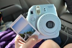 Own a Fujifilm Instax Mini 8 Camera. Lavender Aesthetic, Purple Aesthetic, Instax Mini Camera, Fujifilm Instax Mini, Fuji Instax, Camara Fujifilm, Bucket List For Girls, Tumblr Quality, Photo D Art