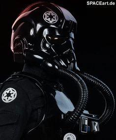 Star Wars: Imperial Tie Fighter Pilot, Voll bewegliche Deluxe-Figur ... http://spaceart.de/produkte/sw041.php