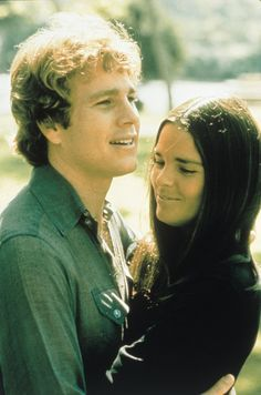 """Ali MacGraw and Ryan O'Neal in """"Love Story"""" (1970)...if u havent seen this movie, u need to #chickflix"""