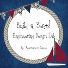 If you're looking for something different to engage your students as the school year is winding to a close, consider this fun and easy engineering design lab! Students must work together as a team to select the appropriate materials and build a boat that will support the weight of 25 pennies for 30 seconds. $