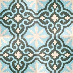 portugese-tegels -> VN Negra 22 - Designtegels