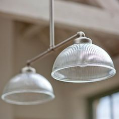 The latest addition to our range of chic Paris pendant lights, is a double Paris light, perfect for hanging above a dining table to create a stunning centrepiece. Garden Trading