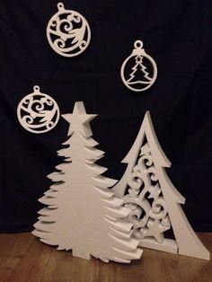 Снежинки из пенопласта, изготовление новогодних украшений из пенопласта под заказ